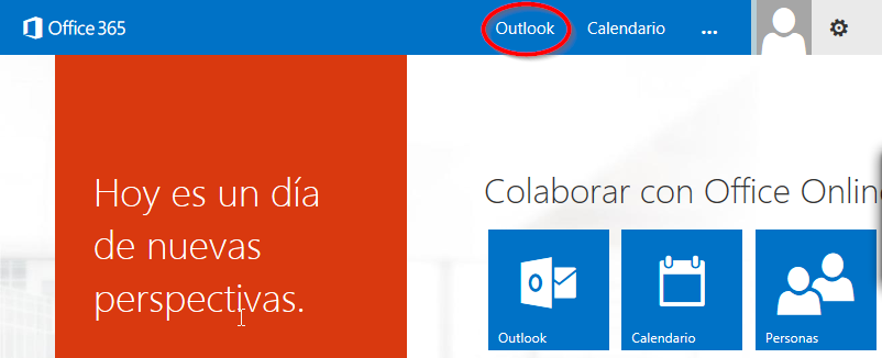 ayuda webmail outlook